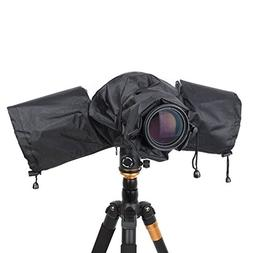 DSLR Cameras Rain Cover Raincoat Protector Rainproof Camera
