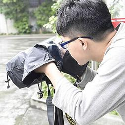 Huiee DSLR Rain Raincoat Waterproof Cover Protector for Cano