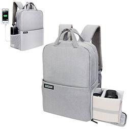 Professional Fashion Travel DSLR/SLR Camera Backpack with US