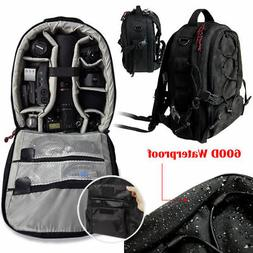 DSLR Waterproof Camera Backpack Bag Case for Canon Nikon Son