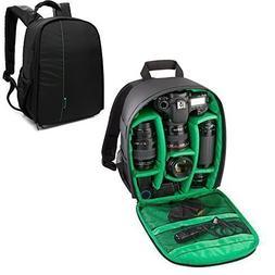 Professional DSLR Waterproof DSLR Camera Lens Backpack Case