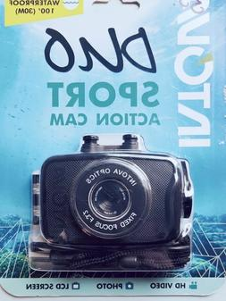 INTOVA DUO SPORT ACTION CAMERA WATERPROOF MICRO SD ...  RECH