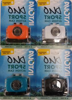 Intova Duo Sport Video Action Cam Camera 720p W/ Waterproof