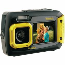 Coleman Duo2 2V9WP-Y 20 MP Waterproof Digital Camera with Du