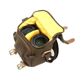 Durable Digital Camera Bag Waterproof Canvas Vintage Camera