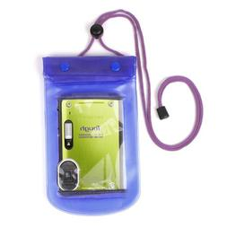 DURAGADGET Durable Blue Waterproof Camera Carry Dry Case Wit