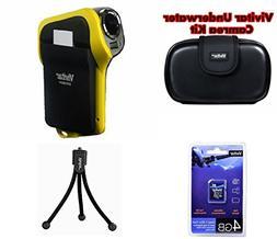 Vivitar DVR-850 8.1MP Underwater Digital HD Camera & Camcord