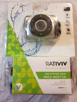 Vivitar DVR783HD Action Video Camera Waterproof  Bike Helmet