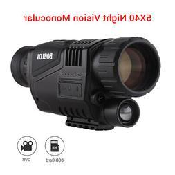e01 monocular zoom night vision