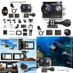 Dragon Touch 4K EIS Action Camera 16MP Vision 4 Support Exte