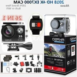 Akaso EK7000 Wifi 4K 1080P Action Sport Action Camera DVR Ca