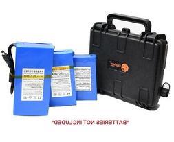 Elephant B20 Waterproof Battery Case box for Kayak boats Fis