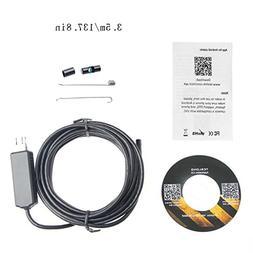 Mimgo 5.5mm Endoscope Snake Camera, Micro USB Borescope Wate