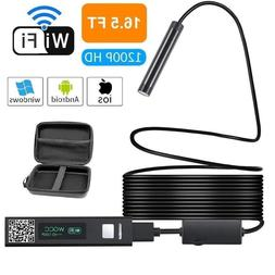 Endoscope WiFi Wireless Inspection Camera 1080P Waterproof U