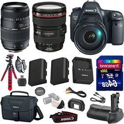 Canon EOS 6D 20.2 MP Full-Frame CMOS Digital SLR Camera Bund