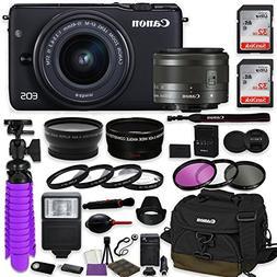 Canon EOS M10 Mirrorless Digital Camera  Premium Accessory B