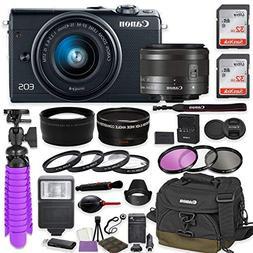Canon EOS M100 Mirrorless Digital Camera  Premium Accessory
