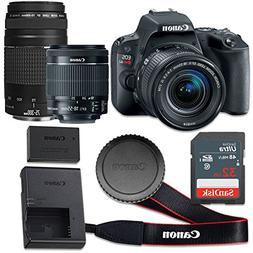 Canon EOS Rebel SL2 24.2 MP CMOS Digital SLR Camera with 3.0