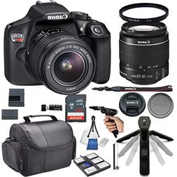 Canon EOS Rebel T6 DSLR Camera w/ 18-55mm Lens + 32GB Card +