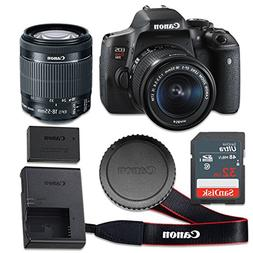 Canon EOS Rebel T6i 24.2 MP CMOS Digital SLR Camera with 3.0