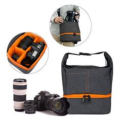 Camera Shoulder Bag Case,WU-Mingle Waterproof Multifunctiona