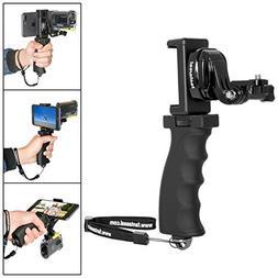 Fantaseal Ergonomic Action Camera Grip Camcorder Handle Grip