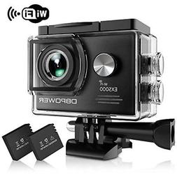 DBPOWER EX5000 Action Camera 14MP 1080P HD WiFi Waterproof S