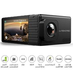 "DBPOWER EX7000 PRO 4K Action Camera 2.45"" LCD Touchscreen Un"