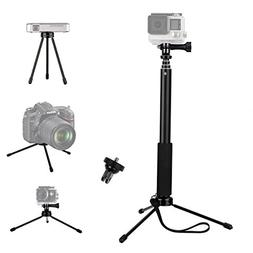 VVHOOY Waterproof Selfie Stick and Universal Mini Tripod Sta