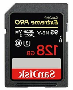 SanDisk Extreme Pro 128GB SDXC UHS-I Card SDSDXXG-128G-GN4IN