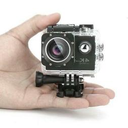 Tekcam F60R 4K WiFi Action Camera Complete Accessory Pack  +