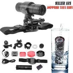 F9 HD1080P DV Mini Waterproof Sport Camera Helmet Bike Actio