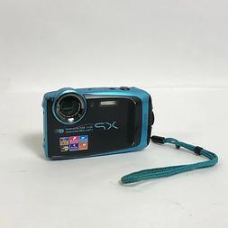 Fujifilm Finepix XP120 Waterproof & Shockproof Blue Digital