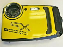 Fujifilm Finepix XP140 Point & Shoot Camera - Yellow