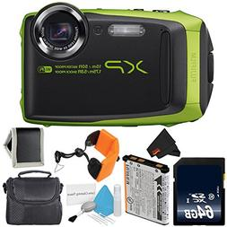 Fujifilm FinePix XP90 Lime Green Waterproof Digital Camera B
