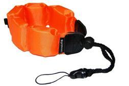 Polaroid Floating Wrist Strap Orange for Underwater Waterpro