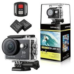 MOSPRO FT7500 Action Camera, 4K Ultra HD Wifi Waterproof 170