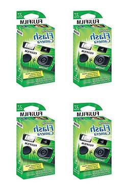4x Fuji Quicksnap Flash 400 Disposable 35mm Camera 27 Exp 09