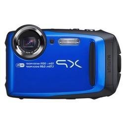Fujifilm FinePix XP95 Waterproof Digital Camera, Blue