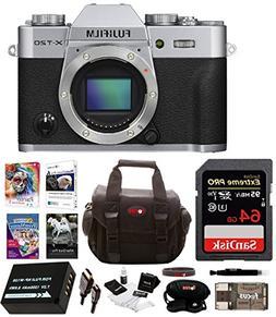 Fujifilm X-T20 Mirrorless Camera Body 64GB Body Bundle