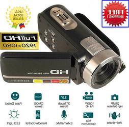 """FULL HD 1080P 24MP 3"""" TFT LCD 16X ZOOM Pocket Digital Video"""