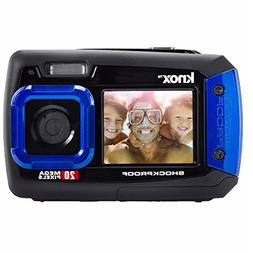 Knox Dual LCD Display 20MP Waterproof & Shockproof Digital C