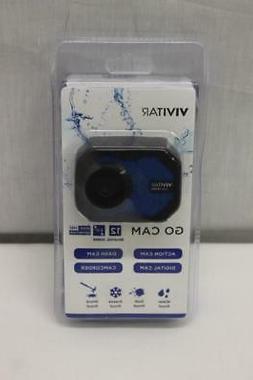Vivitar Go Cam 12MP Waterproof Digital Dash Cam Action Camer