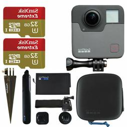 GoPro Fusion + 2x SanDisk 32GB Extreme microSDHC Memory Card