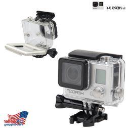 GoPro Hero 3/3+/Hero 4 Underwater Waterproof Dive Case Housi