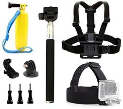 dOvOb GoPro Accessories Kits included Head Strap + Chest Bel