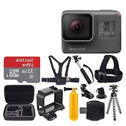 GoPro HERO5 Black + SanDisk Ultra 32GB Micro SDHC Memory Car