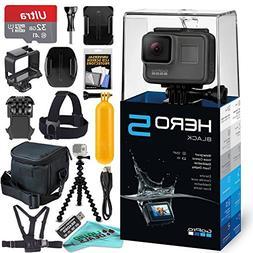 GoPro HERO5 Black + 32GB Memory Card & Card Reader + Case +