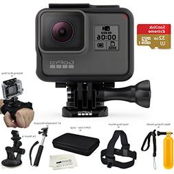 GoPro HERO6 Black  - w/SanDisk Extreme 32GB Micro SDHC, w/A