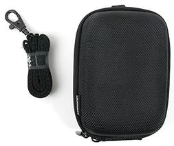 DURAGADGET Hard Water Resistant Rigid EVA Shell Case in Clas